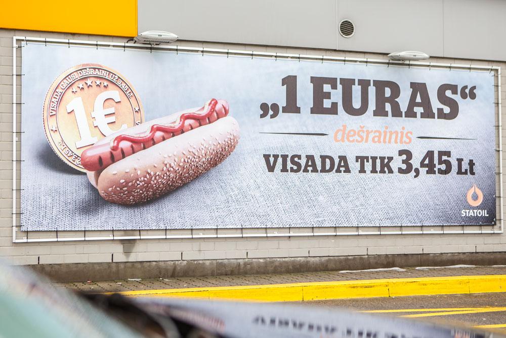 Plakatų gamyba Vilniuje